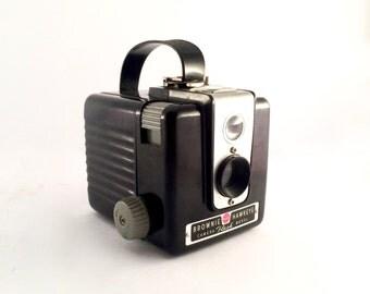 Vintage Brownie Hawkeye Kodak Camera