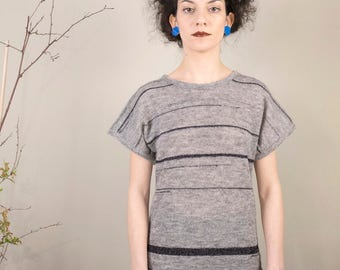 Fashion knitwear, t-shirts, wool, mohair, luxury material, handmade in Italy, fashion style