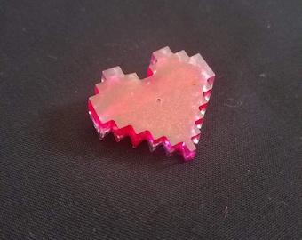 8-bit heart pin