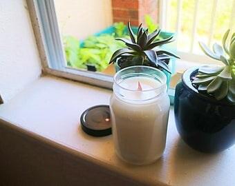 Soy + Essential Oil Jar Candle - 16 oz.