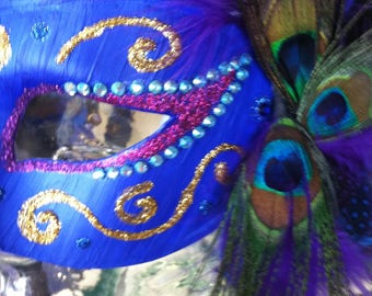 Masquerade/Mardi Gras Mask, special occasion or party accessory