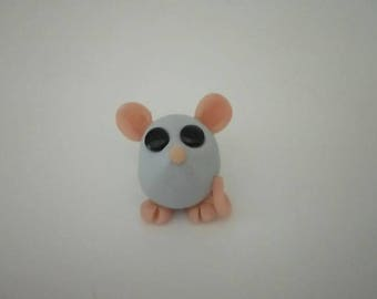 Handmade - mouse - animals - collectable - figurine - polymer clay - gift for him - gift for her