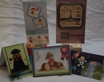 Variety of hand made blank cards for any occasion