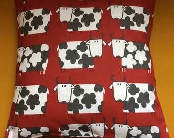 Cow Print Cushion Cover