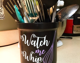 Watch me Whip Vinyl Decal