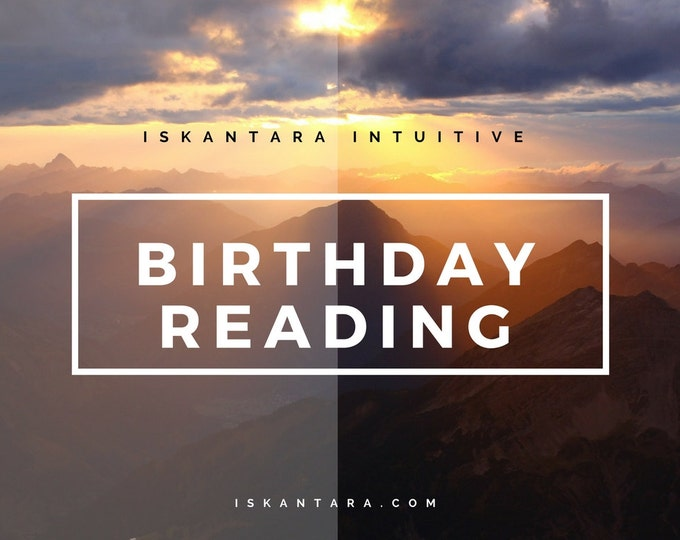 Special birthday reading - spirit guide and akashic records