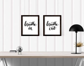 Breathe In, Breathe Out - Print Set