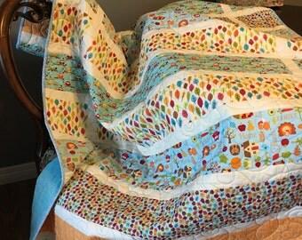 Woodland friends quilt