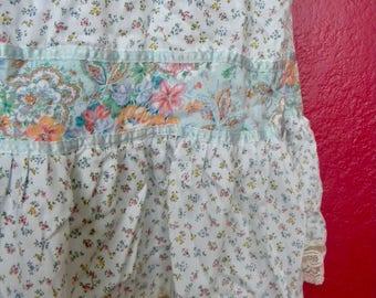 Vintage Floral Prairie Skirt