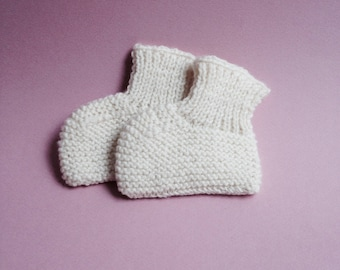 Baby Bootie / Keychain baby / baby / knit