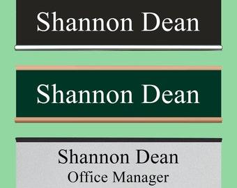 office door name plate | etsy