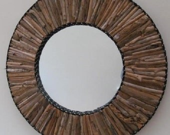 Handmade Driftwood mirror