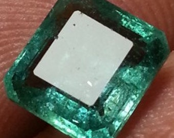2.43 carat Emerald certified 100% natural zambian