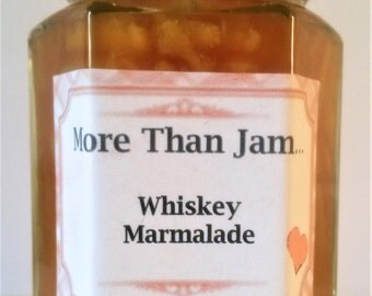 Homemade Artisan Whiskey Marmalade 220g  Gift Breakfast  Jams Preserves Food Gift