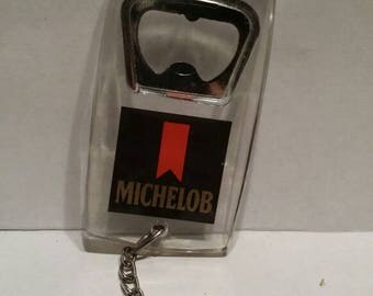 Michelob bottle opener Keychain