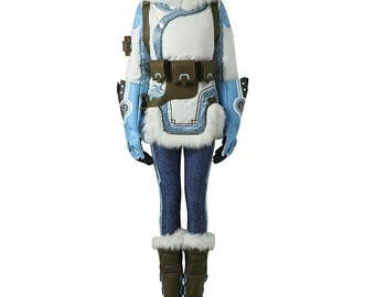 Mei cosplay overwatch costume full set every size handmade