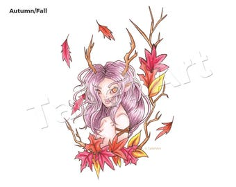 Autumn/Fall Seasonal Original - A4