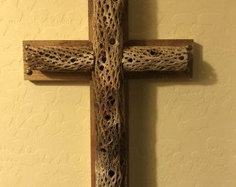 Cholla Cactus Cedar Cross