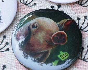VEGAN PIG PIN: 040