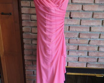 City Triangles Pink Prom Dress - Size Small