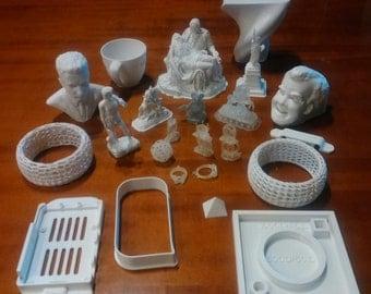 Printing 3D-Prototyping 3D-milling CNC