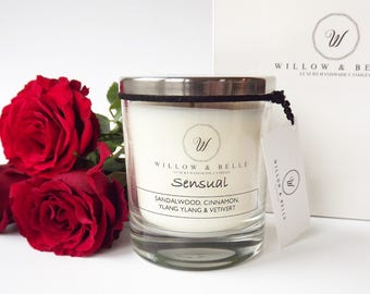 Sensual Aromatherapy Soy Candle