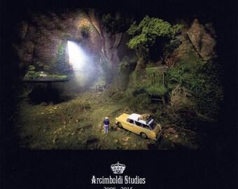 Arcimboldi Studios - Dioramas and Staged Photography 2008 - 2015 (Book)