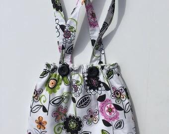 Girls purse, girls tote, girls handbag, toddler's purse, shower gift for girl