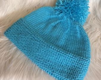 PomParty Women's Knit Hat