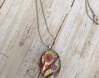 Flowers in bloom pendant