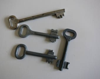 Vintage Key, Skeleton Key, Old Antique Key, Key, Key to the Door, Key to the Safe