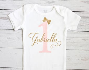 Personalized birthday bodysuit | First birthday bodysuit, One birthday bodysuit, Birthday girl , Birthday, 1st birthday