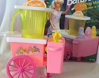 1992 Barbie Ice Pop Maker!