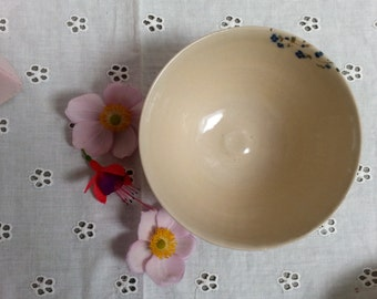 Forget-me-not ceramic bowl