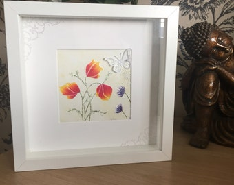 Handcrafted flower picture