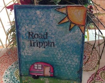 Road Trippin travel journal