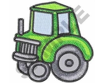 Children's Tractor - Machine Embroidery Design