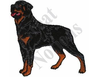 Rottweiler - Machine Embroidery Design