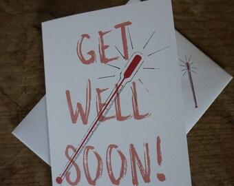Get Well Soon // Greetings Card