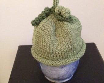 Infant Green Pea Hat