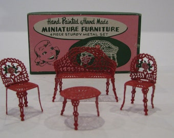 Miniature Furniture Set