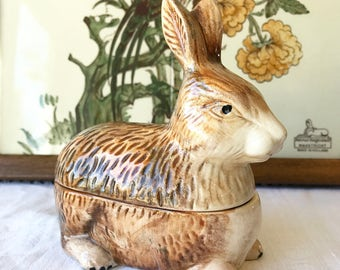 French rabbit tureen