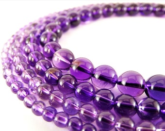 8 mm amethyst beads 6 mm amethyst stones 4 mm amethyst gemstone 10 mm amethyst purple beads 4 mm beads purple stones purple gemstone strands