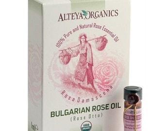 100% Bio Organic Bulgarian Rose Oil 1ml