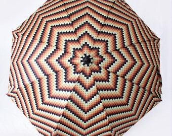 The Lorie - Retro Beads 70s Style Umbrella
