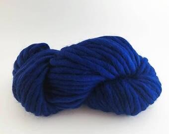 Super Chunky Merino Yarn - 50 grams - Sapphire