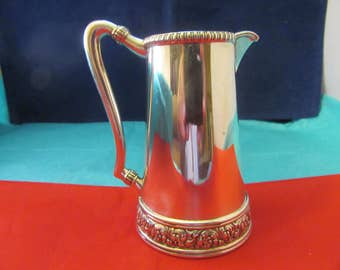 TIFFANY antique sterling silver pitcher wase pot