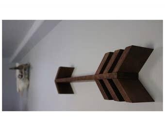 Single Arrow Wooden Shelf (Large)