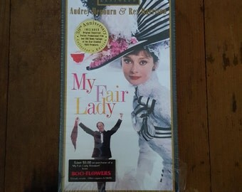 My Fair Lady Vintage VHS Tape