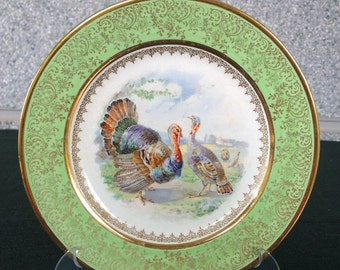 Decorative plate of Johnson Bros porcelain